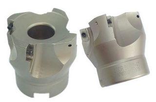 63mm x 22mm Spigot  4 Insert  Right Angle Shoulder Face Cutter - APKT1135PDERM Inserts