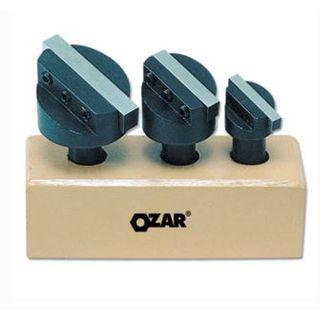 Ozar 3 pce 3/4' Fly CutterTool Holder Set c/w Toolbits