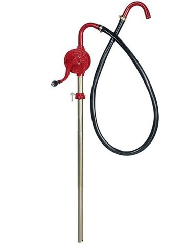 Rotary Vane Pump with Hose - Lubemate (suitable for diesel, kerosene & mineral oils up to SAE 90. not suitable for petrol)