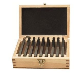 9pce 8.5 x 150mm Precision Ground Parallel Set in Wooden Case