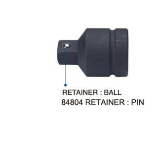 1/2' F x 3/8' M Impact Adaptor W/Ball - Hans