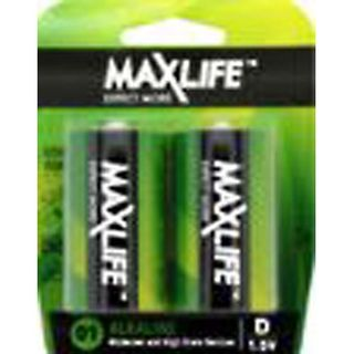 'D' Max Long-Life Battery Alkaline Packet 2