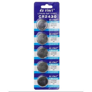 CR2430 Lithium Cell Battery 3 Volt