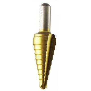 4-12mm  HSS Tin Coated Step Drill - Hall Multicut