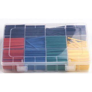 530pcs Heat Shrink Tube Assortment - Multi Colour