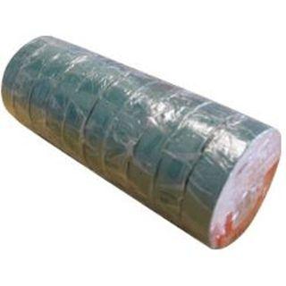 18mm x 20M Green PVC Insulation Tape  - Pkt10 - ISL