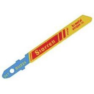 BU46 (Pkt5) Starrett 100mm x 6tpi Wood Jigsaw Blades