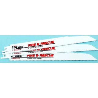 225x22x1.50mm 14tpi Fire & Rescue Recip Blade Pkt 20 - Morse