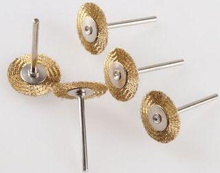 25mm x 2mm x 3mm Shk Brass wheel