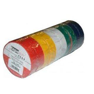 19mm x 20M Insulation Tape - Rainbow (Pkt10)