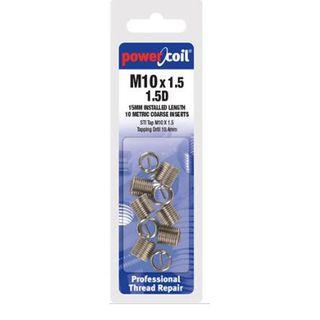 M2.5 x 0.45 x 2.0D Powercoil Inserts Pkt 10