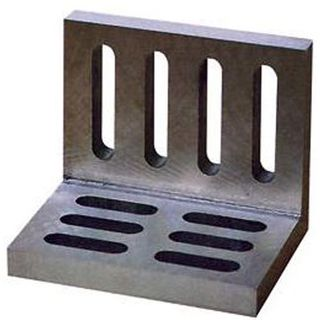 Angle Plate Slotted  Open end  4-1/2'' L x 3-1/2'' H x 3'' W