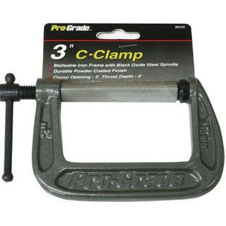 3' C-Clamp- Throat 2' - Pro Grade