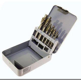 M3 - M10 HSS 6 pce Counterbore Set in Metal Case - Krino