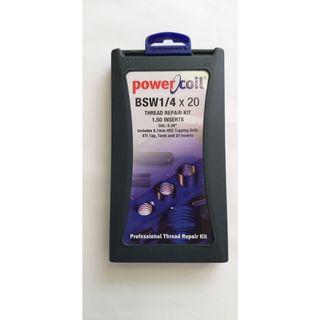 Powercoil 1/4'-20 BSW Thread Repair Kit