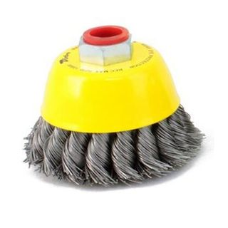 65mm M10 x 1.50 Twist Knot Cup Brush - Dixbro