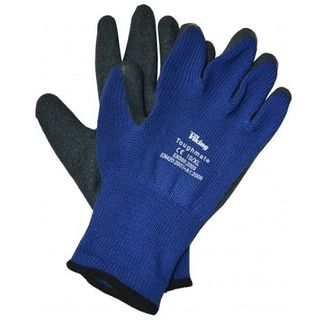 Blue Fabric/Latex Gloves size 9L - General Purpose - Viking