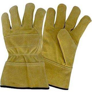 Leather Welding Gloves - Large (Pr)