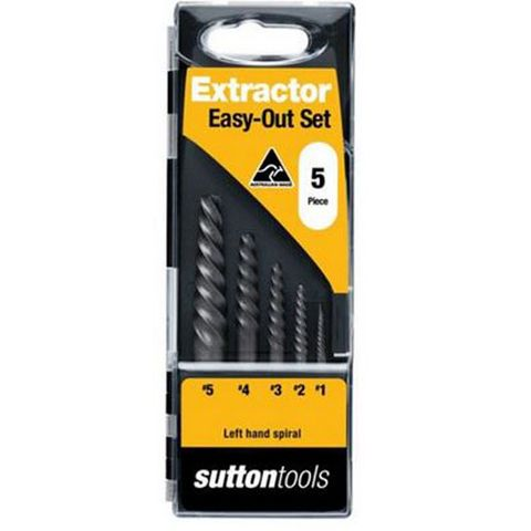 S15 Sutton #1-#5 Screw Extractor Set
