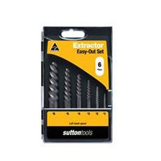 S15A Sutton #1-#6 Screw Extractor Set