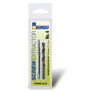No.1 Screw Extractor (With Drill) - Bordo
