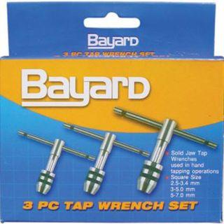 Bayard 2pc Long Plain Tap Wrench Set