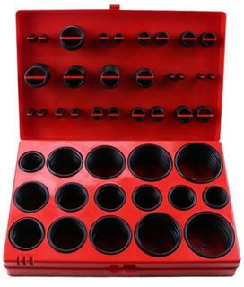 'O' Ring 382 piece assortment kit - Metric