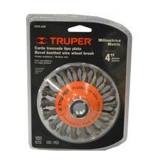 150 x 19mm Multi Bore Wire Wheel - 35G - Truper