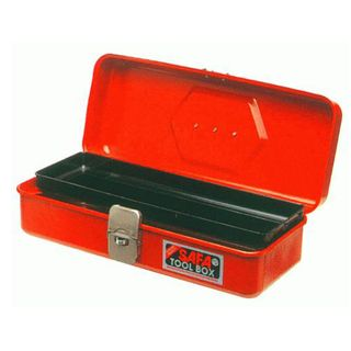 'D' SAFA 380mm(W) x 155mm(D) x 120mm(H)  Toolbox with Tote Tray