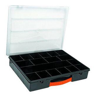 Truper Plastic Storage Ctnr - 18 Compartments