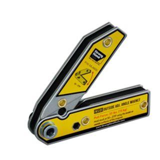 30-270 deg. Adj Inside/Outside Angle Magnetic Clamp 156x156x20mm - Stronghand