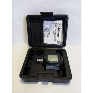 "3/8"" Dr Digi Torque Adaptor 27-135Nm (Range Nm, FT-LB & IN-LB) - Hans"