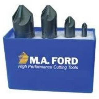 MA Ford Multi- Flute 90 deg C/Sink Set 4 pce  1/4',1/2', 3/4', 1'