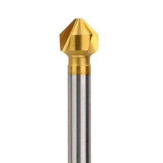16.5mm x 90deg HSS TIN Coated Three Flute Countersink