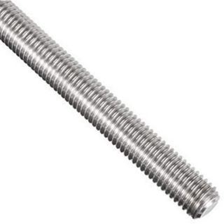 M12  316 S/Steel Threaded Rod 1metre Length