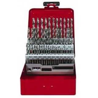 6>10mm x .1mm rises HSS Drill Set (Metal) - Evacut