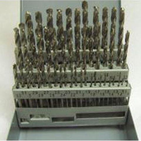1-5.90mm x .1 Rises 50 piece HSS Drill Set -  TDC