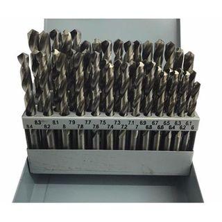 6-10.0mm x .1 Rises 41 piece HSS Drill Set - TDC