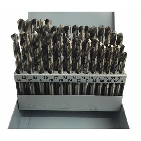 6-10.0mm x .1 Rises 41 piece HSS Drill Set - TDC