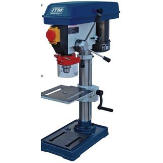 Pedestal Bench Drill Press 13mm Cap. 375W - ITM