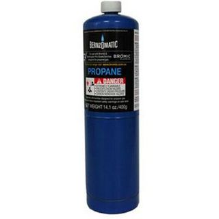 Tall Boy Blue Replacement Propane Gas Cylinder 400g