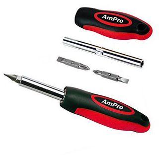 Ampro Screwdriver - Quick Change - 4 Tip