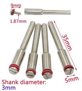 3mm Shank Dremmel Mandrel