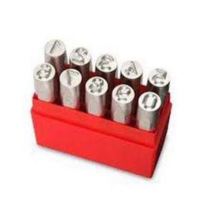 Pryor 6mm Number Punch Set