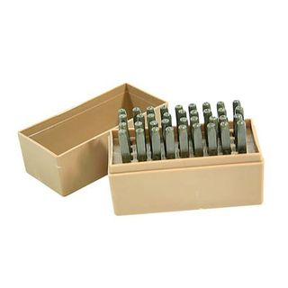 Pryor 36pc 6mm Letter & Number Punch Set