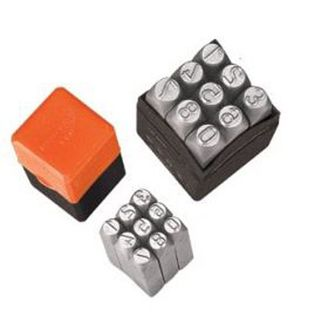 10mm Number Punch Set - Groz