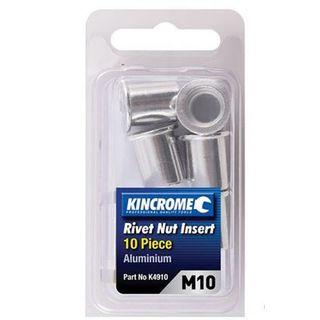 M10  Rivet Nut Insert - Pkt 10 - King Chrome