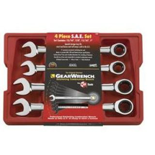 3/8,7/16'1/2' & 9/16'  4pce Gearwrench  Set