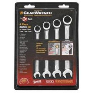 10-14mm 4pce Gearwrench Set