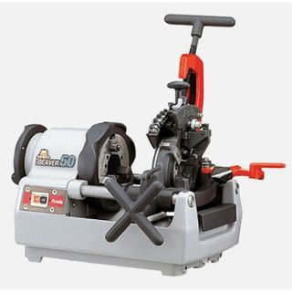 "ASADA Beaver 50 Threading Machine (Auto) - 1/2""-2"" BSPT or NPT Pipe, 750w single phase, foot switch included"